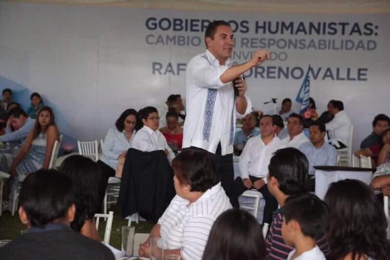 El gobernador Rafael Moreno Valle concluye su mandato en 2016. (Foto: Cuartoscuro/Archivo )