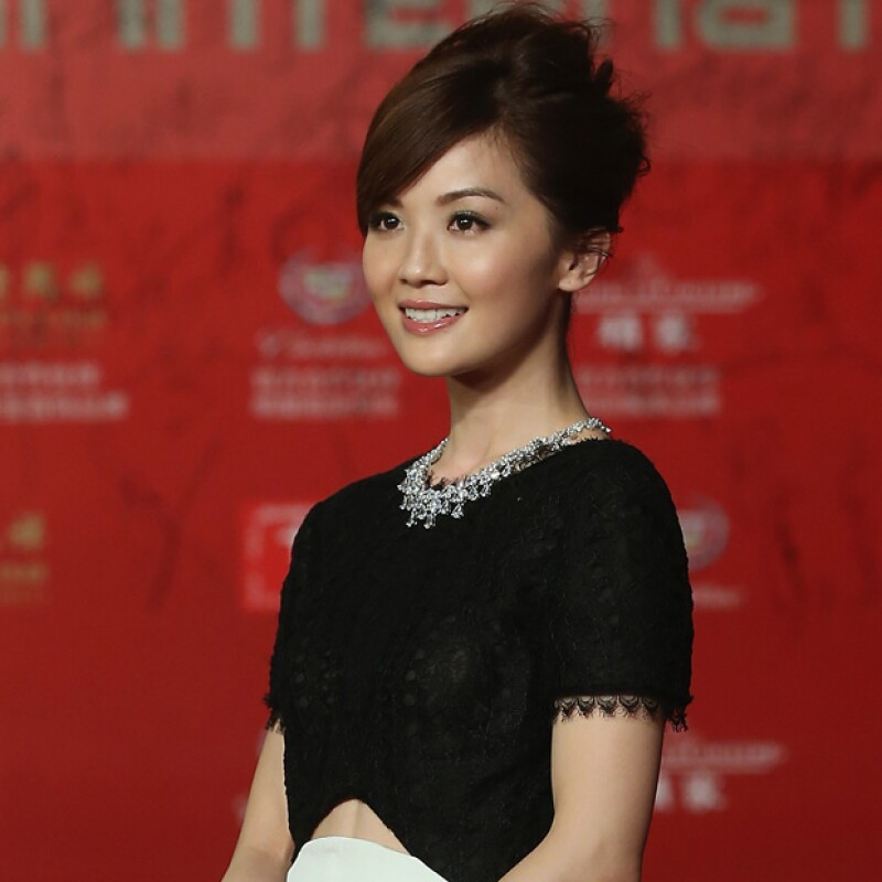 Ella es Charlene Choi, actriz recurrente en filmes orientales.