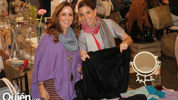 Fernanda Doring y Annie Llamas