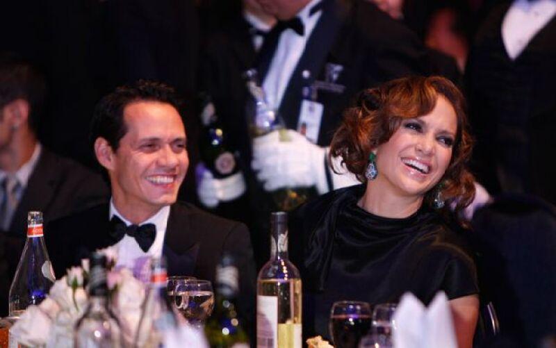 El presidente estadounidense y su esposa, Michelle, encabezaron el evento del Instituto del Grupo Congresistas Hispanos, en el que Marc Anthony recibió un reconocimiento por su trayectoria artística.