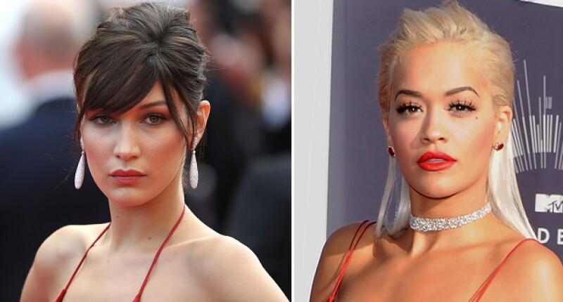 No solo la forma de arreglarse el pelo fue diferente, también lo fue el makeup.