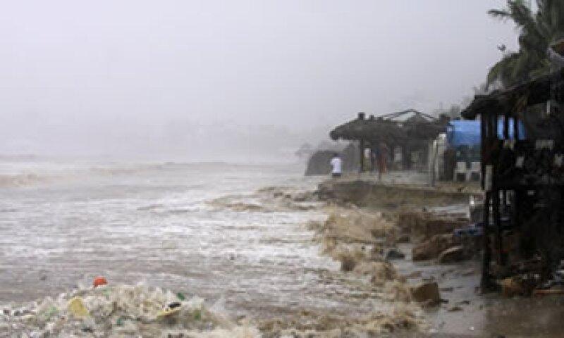 Las aseguradoras estiman los daños por las lluvias en 75,000 millones de pesos.  (Foto: Reuters)