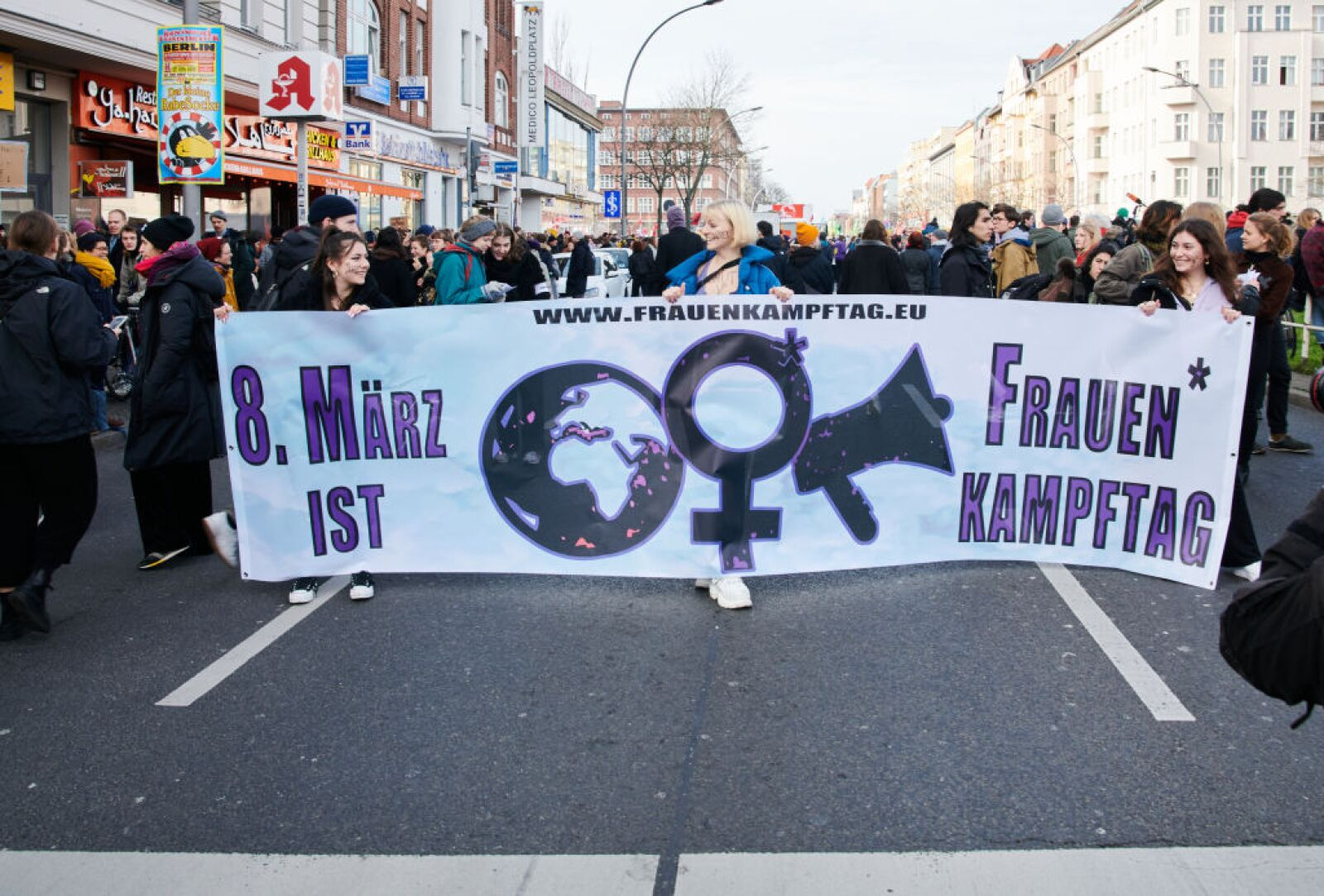 International Women's Day - Demonstration in Berlin