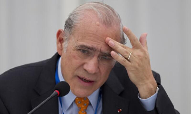 José Ángel Gurría manifestó que la competencia mundial después de la crisis está a 'cuchillada limpia'. (Foto: AP)