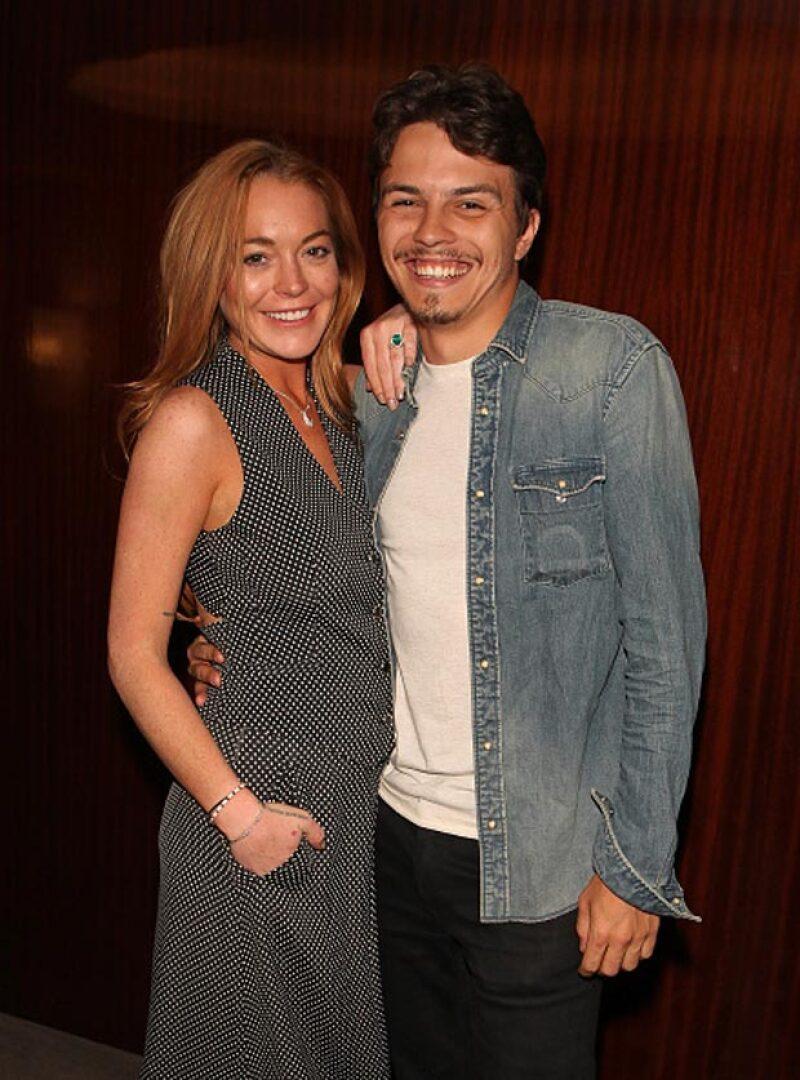 Lindsay y Egor también tuvieron buenos momentos.