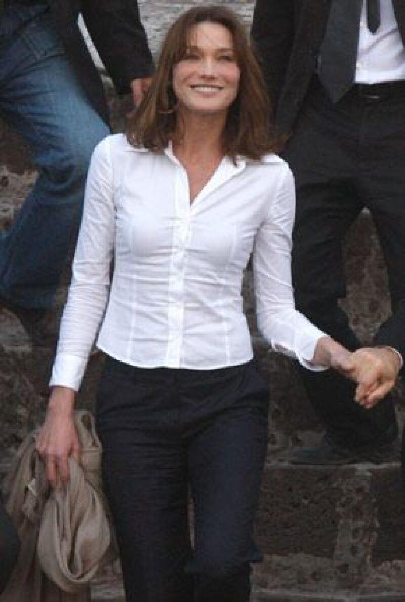 Todo sobre el guardarropa de la primera dama de Francia durante su visita a nuestro país.