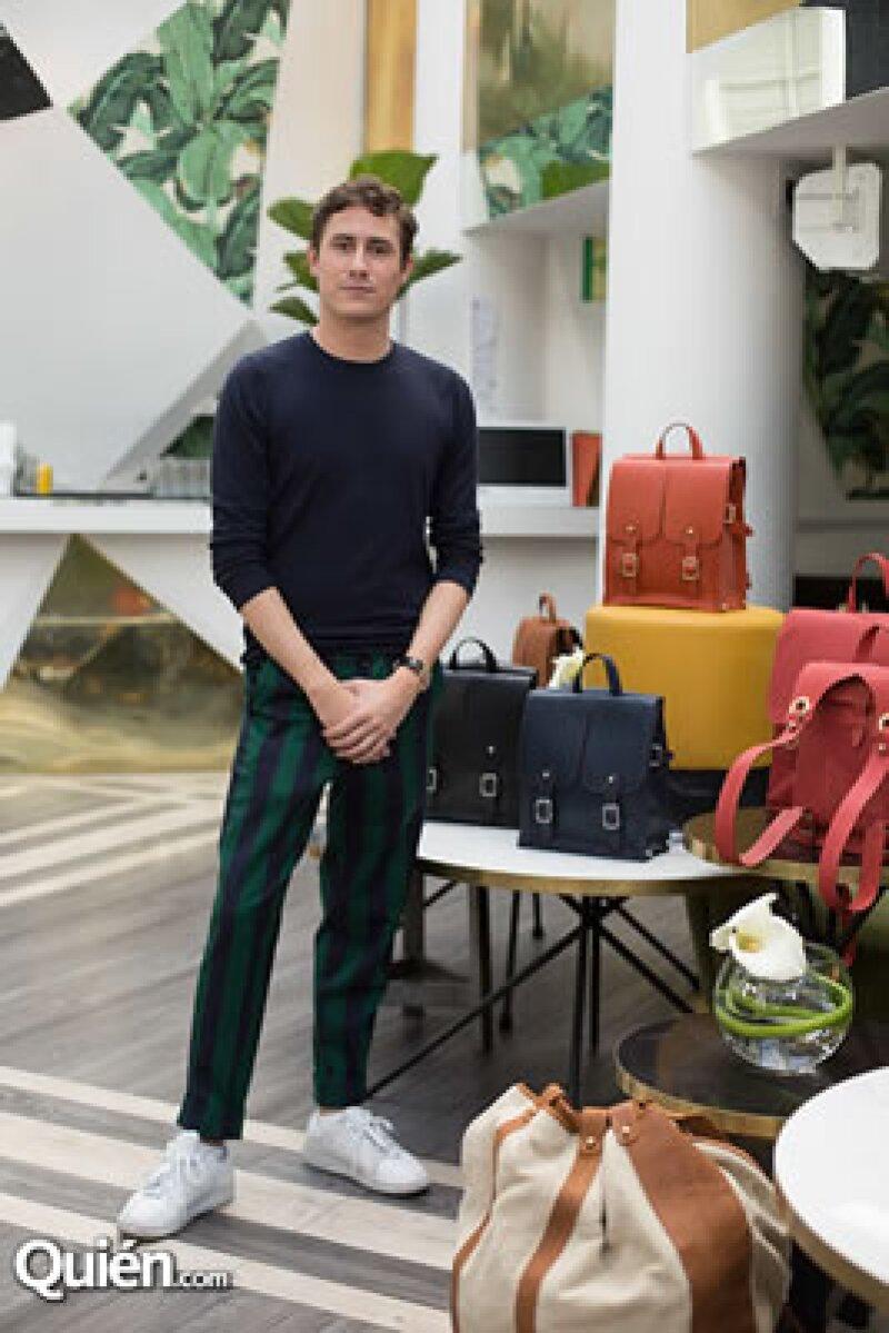 La marca franco/mexicana de lujo llegó a nuestro país presentando su primer trunk show enfocado en el diseño y fabricación de alta marroquinería para hombre y mujer.