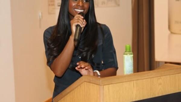 Tika Sumpter es una de las embajadoras del lanzamiento.