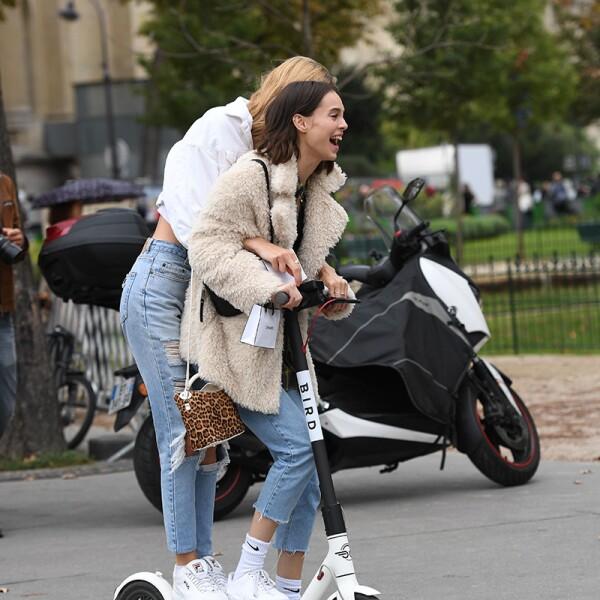 Street style, Spring Summer 2019, Paris Fashion Week, Paris, France - 02 Oct 2018