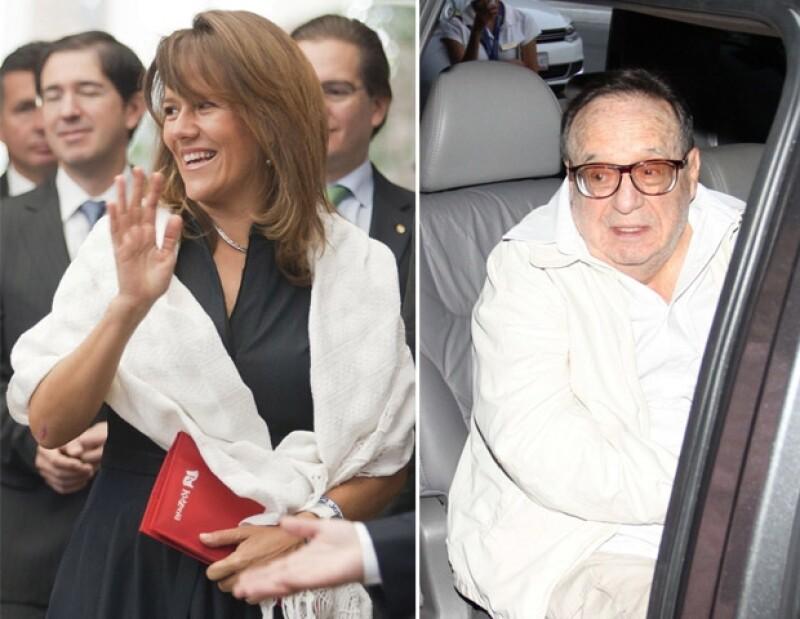Tanto la primera dama como Roberto Gómez Bolaños fueron dos personajes que apoyaron a la candidata.