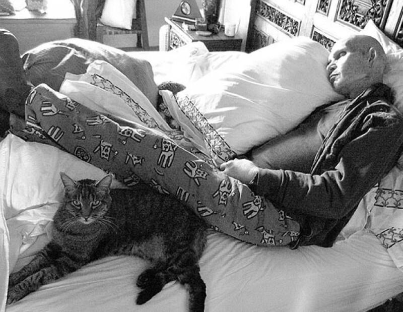 Patrick Swayze en una de sus últimas fotografías.