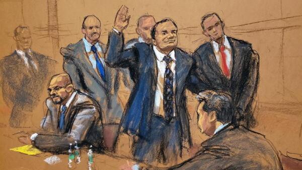 Juicio contra El Chapo Guzmán Rey Zambada