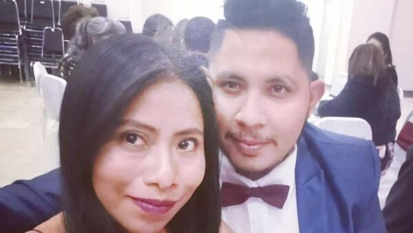 Yalitza Aparicio y André Montes Fuentes