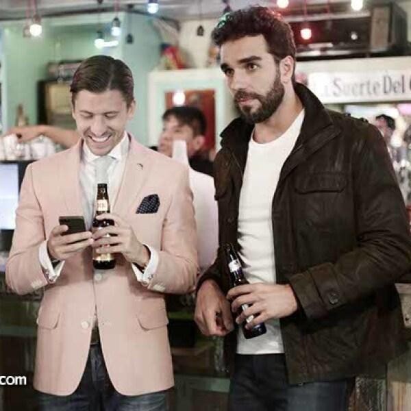 Santiago Alcoce y Marcus Ornellas