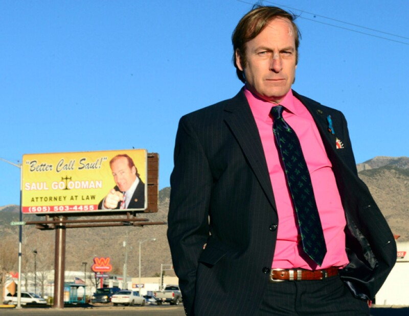 Bob Odenkirk como Saul Goodman.