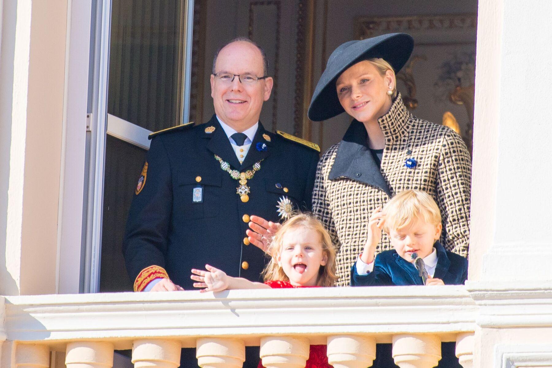 Príncipe Alberto de Mónaco, Charlene y sus mellizos, Jacques y Gabriella
