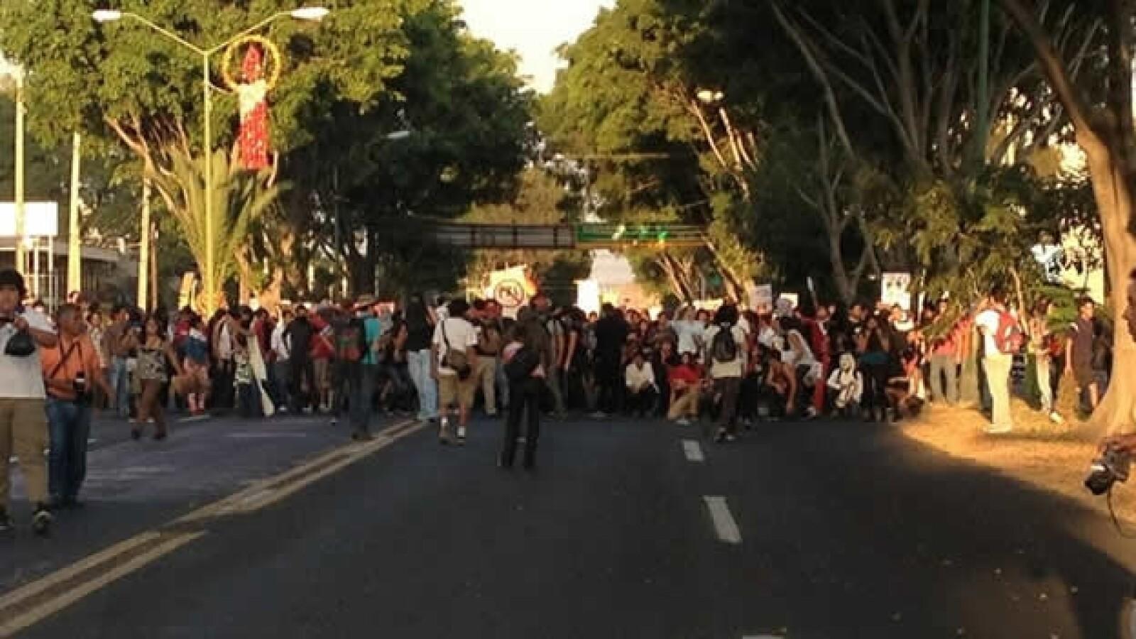 protestas anti peña nieto en guadaalajara