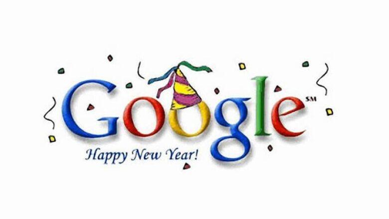 Publicado el primero de enero de 2000, este diseño fue la felicitación de Google para el inicio del nuevo periodo.