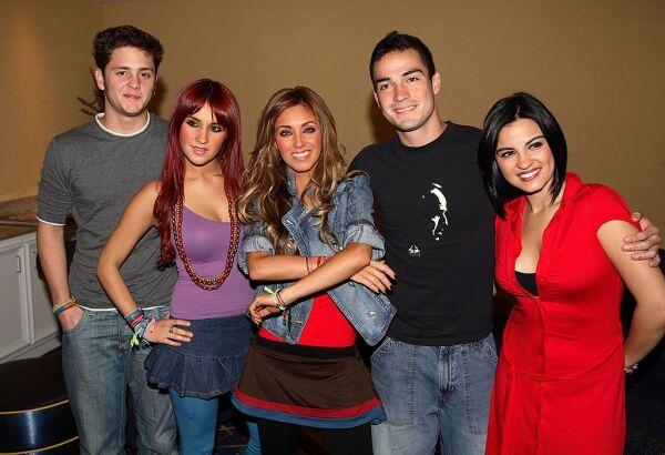 Christopher Von Uckermann, Dulce Maria, Anahí, Alfonso Herrera y Maite Perroni