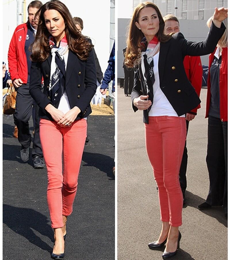 La Duquesa presumió un estilo `preppy´.