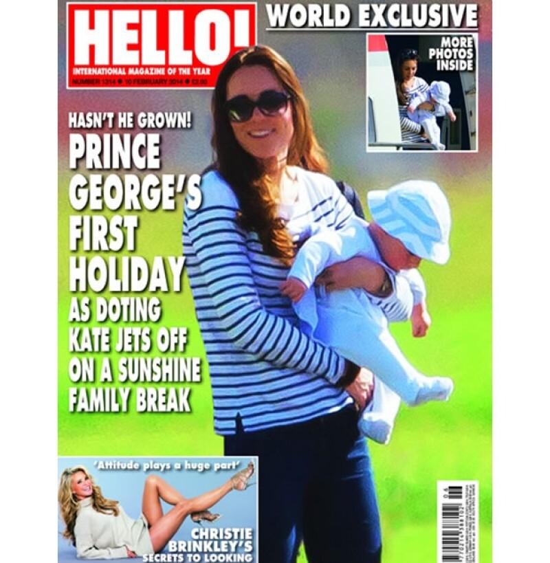Con pocos meses de edad, el pequeño hijo de los Duques de Cambridge ya conoce la exclusiva isla Mustique. En sus vacaciones fue fotografiado con su mamá, Kate Middleton.