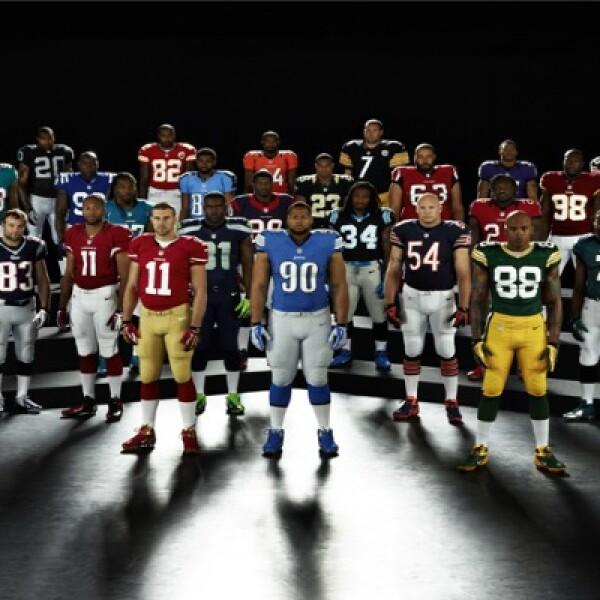 La firma deportiva se convirtió en la marca oficial que fabricará los próximos uniformes de los equipos de la NFL de Estados Unidos.