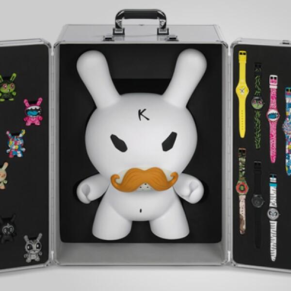 Existirá una edición de colección con todos los relojes, un maletín y un Dunny de 45 centímetros, con un costo de 19,500 pesos.