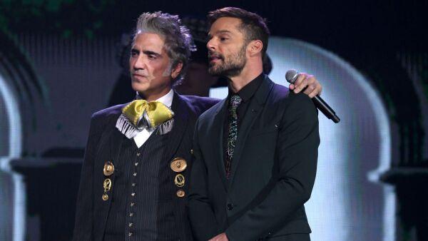 Alejandro Fernández y Ricky Martin
