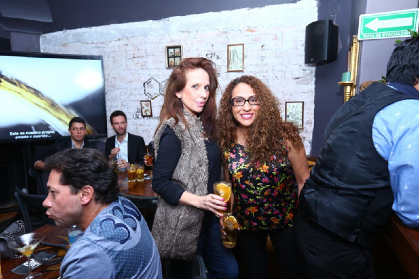 Laura Valero y Valeria Pérez-Fraga