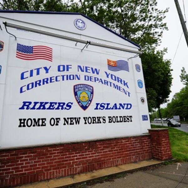 FMI - escudo prisión - Isla Rikers - NY