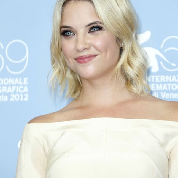 La actriz Ashley Benson.