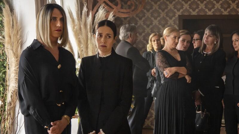 Funeral de Virgina de la Mora
