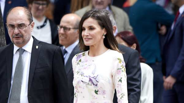 Queen Letizia of Spain Attends The Commemorative Act Of The World Red Cross Day