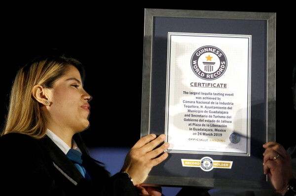 MEXICO-TEQUILA-GUINNESS-RECORD
