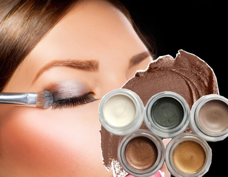 Tampoco recomendamos prestar tus sombras para ojo en crema.