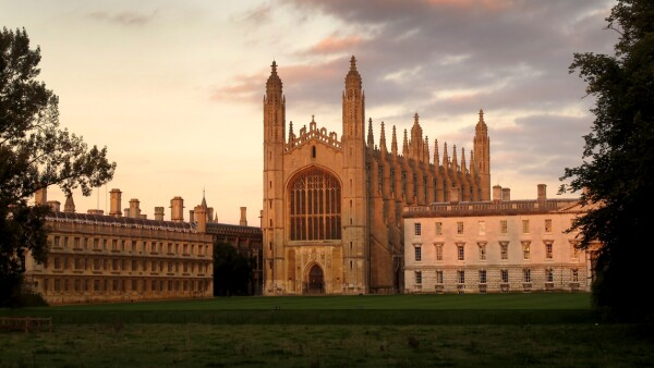Cambridge, King's College Chapel, UK