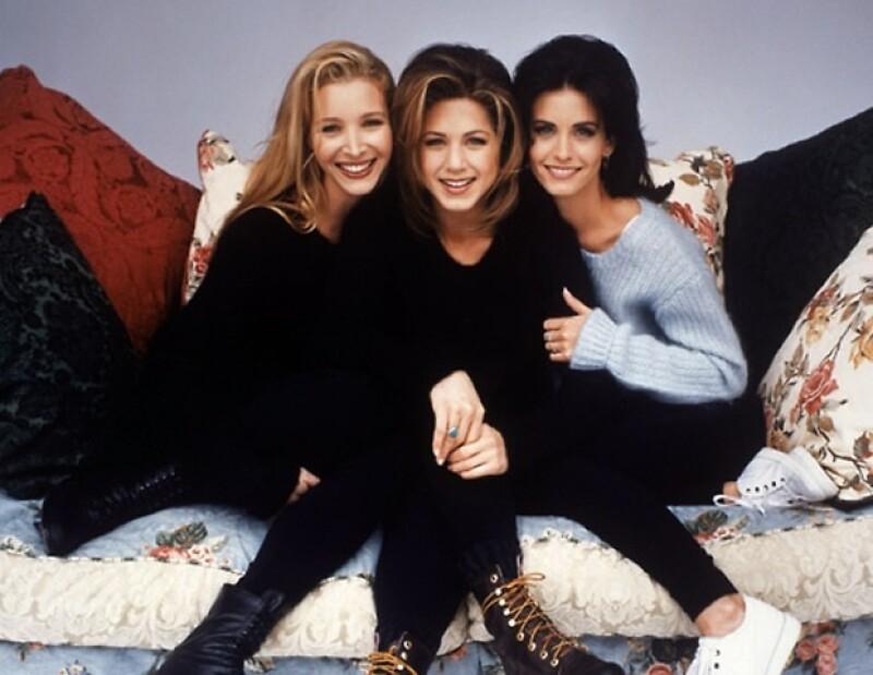 Rachel, Phoebe y Monica. Iconos de estilo!