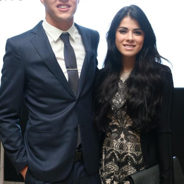 Fernando Tena y Paulina Peña.