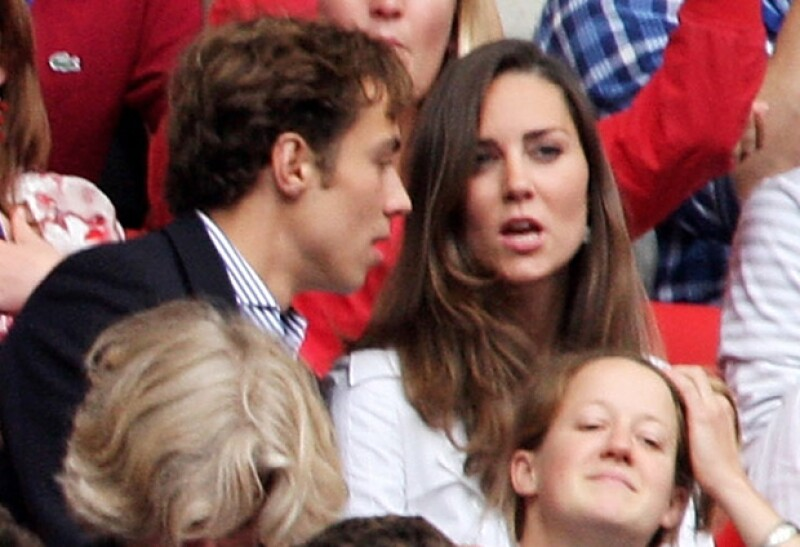 Se dice que esta foto causó una ruptura entre Kate y William en 2007.