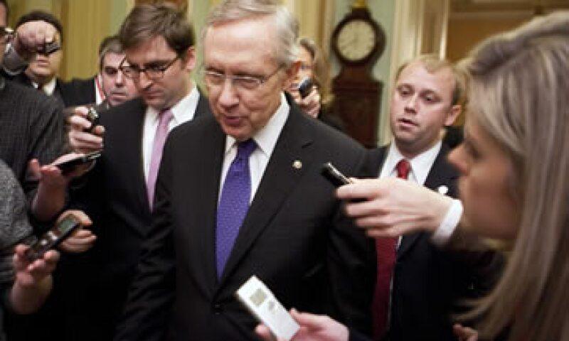 Harry Reid, el líder demócrata del Senado, rechazó entrar en nuevas negociaciones y acusó a los republicanos de hipócritas. (Foto: Reuters)