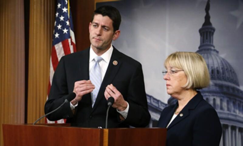 El acuerdo fue anunciado previamente por Paul Ryan y Patty Murray. (Foto: Reuters)