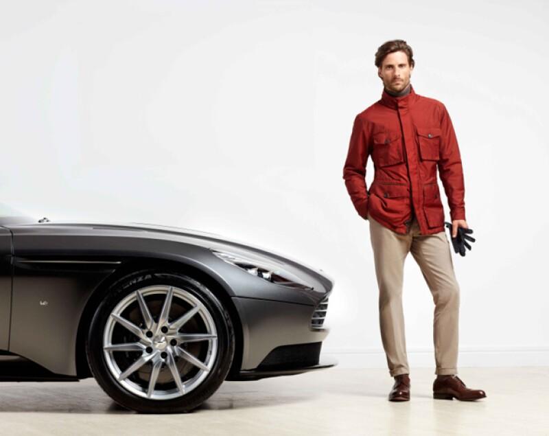 El automóvil DB11 de Aston Martin fue la inspiración