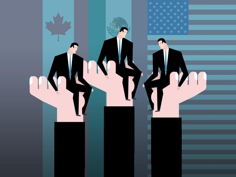 51cd087fed Empresarios de México, EU y Canadá defenderán al TLCAN