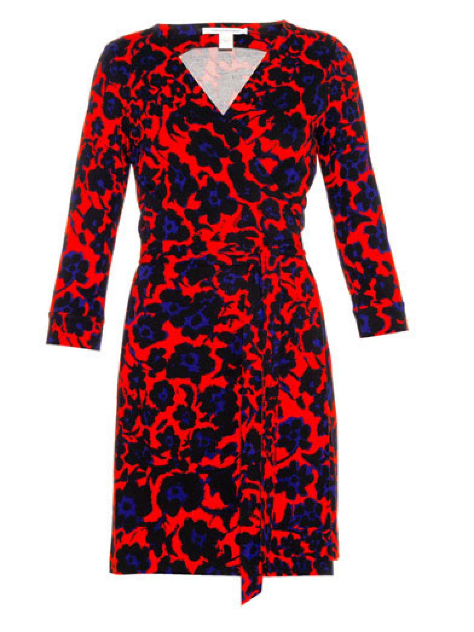 Diane Von Furstenberg utiliza prints atrevidos.