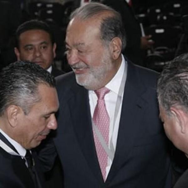 Carlos Slim Palacio Nacional