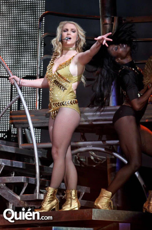 Concierto Britney Spears en el Monumento a la Revolución