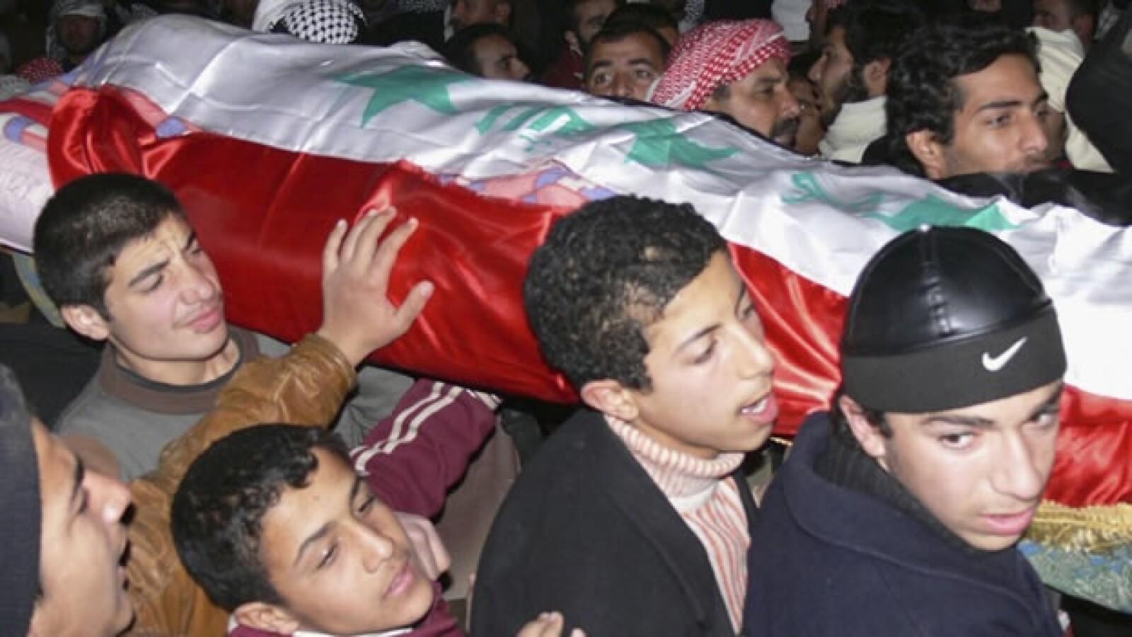 Saddam Hussein - funeral