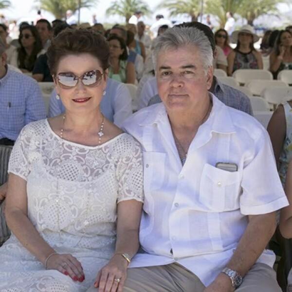 Alejandra Cetto y Fidel Gutiérrez