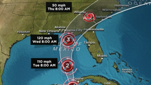 Michael se fortalece a huracán y alcanza categoría 1