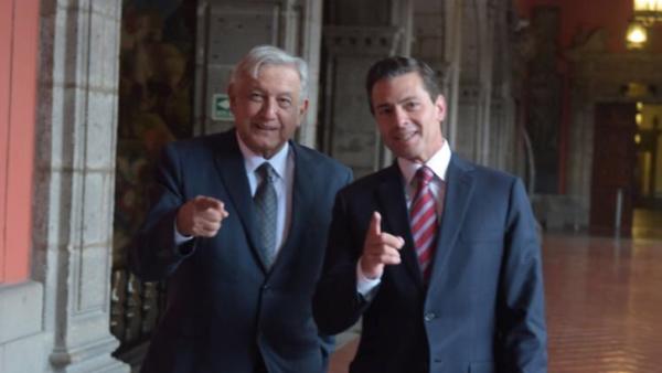 Así fue el encuentro entre Peña Nieto y López Obrador, según Presidencia